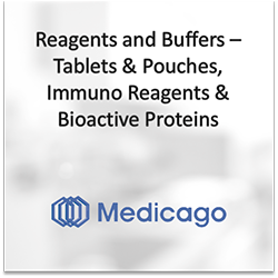 Medicago: Reagents and Buffers - Tablets and Pouches, Immuno Reagents and Bioactive Proteins